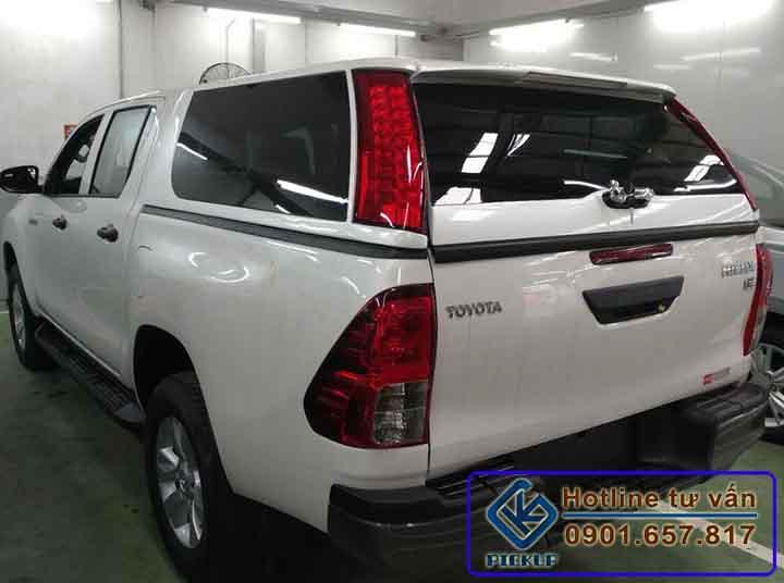 Nắp thùng cao Toyota Hilux
