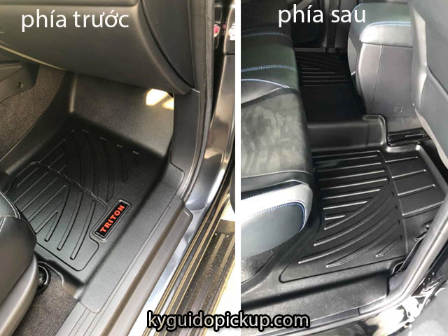 lót sàn xe Triton