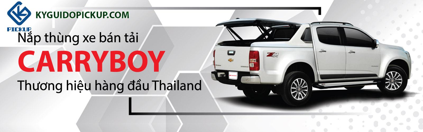 nắp thùng bán tải Thái Lan