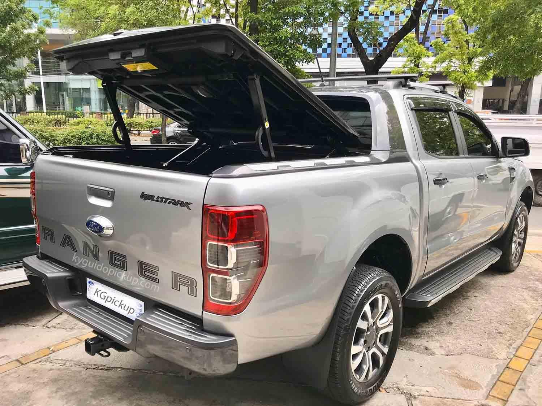 Nắp thùng thái lan cho Ranger hiệu Maxliner mở 45 độ